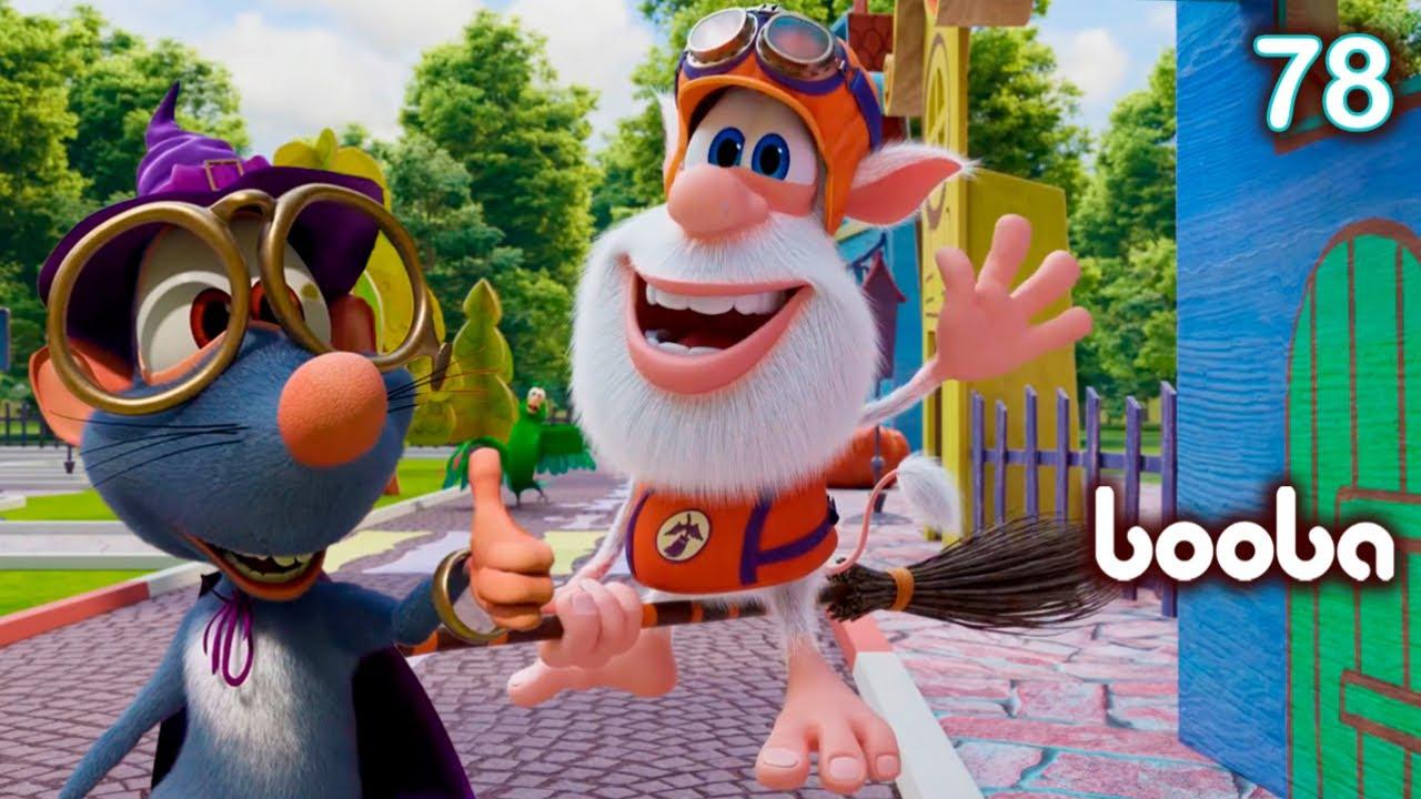 Booba - Magic Broomstick 🎃 Episode 78 - Cartoon for kids Kedoo ToonsTV
