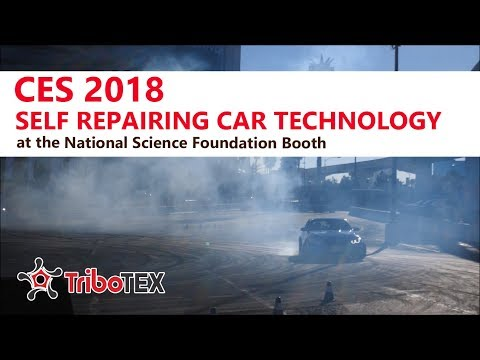 CES 2018 New Automotive Technology with the National Science Foundation and TriboTEX Nano Robots