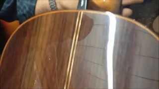 Guitarra De Concierto De Paracho En Palo Santo