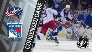 Columbus Blue Jackets vs New York Rangers – Mar. 20, 2018 | Game Highlights | NHL 2017/18. Обзор