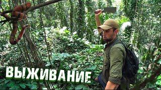 Выживание в тропических джунглях Часть 1 На необитаемом острове