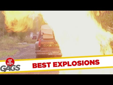 Best Explosion Pranks - Best of Just For Laughs Gags