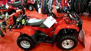 2013 Honda TRX420FMC Utility ATV - 2012 Salon National du Quad - Laval, Quebec, Canada