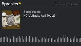 NCAA Basketball Top 25