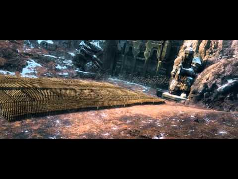The Hobbit  The Battle of the Five Armies Official Trailer [48FPS] [HD]