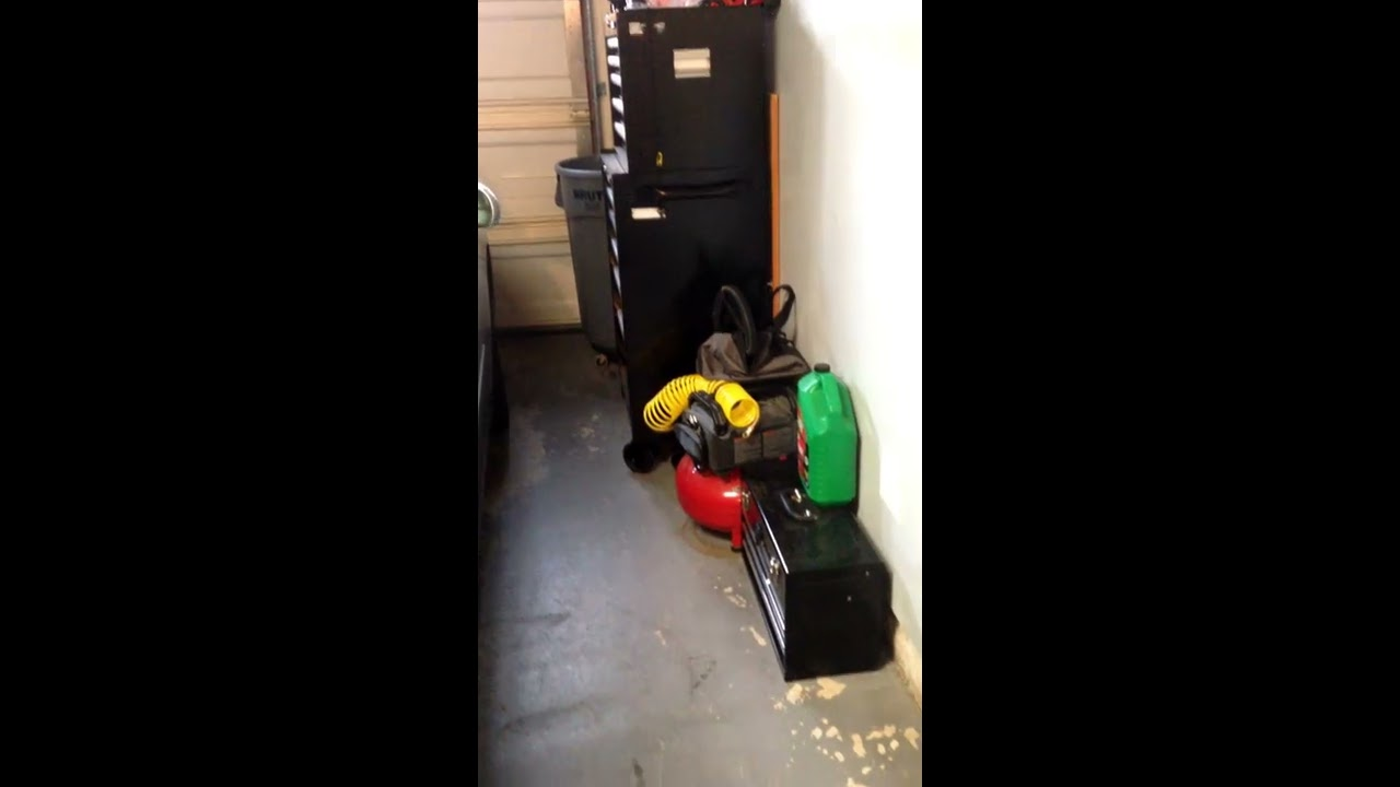 Great way to redirect a dryer vent tube through the garage diy great way to redirect a dryer vent tube through the garage diy do it yourself solutioingenieria Image collections