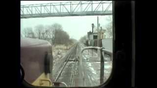 Cab Video of the Final Days of the Wisconsin Central.  Oshkosh, WI to Stevens Point, WI
