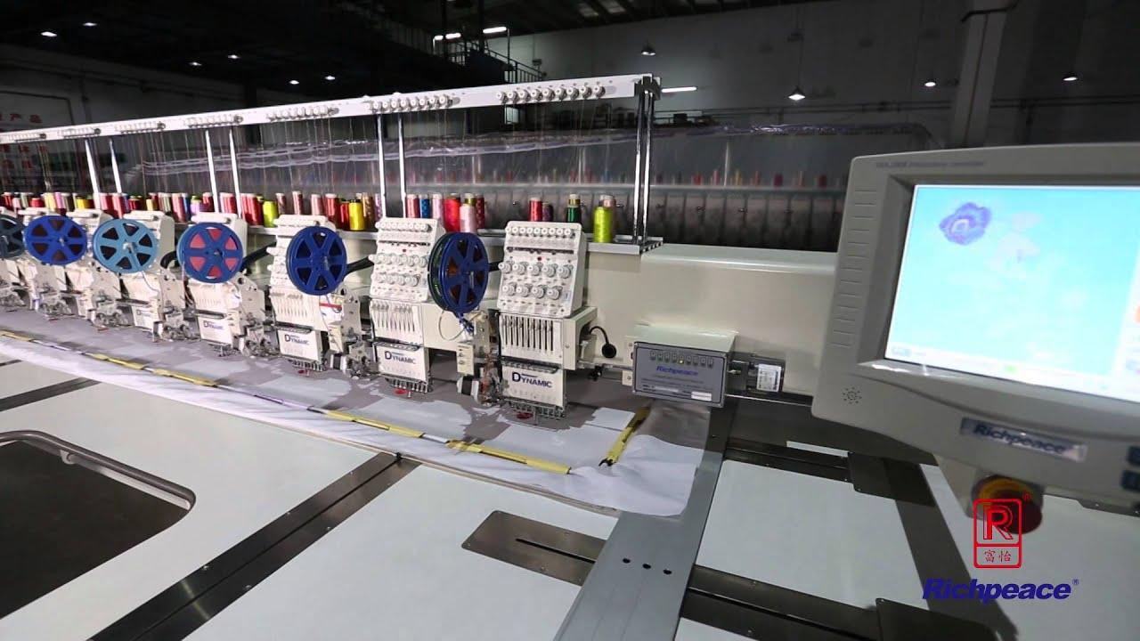 embroidery machine operator