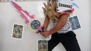 Ultraman Orb Origin vs Trinity - Orb Calibur [Papercraft]/ウルトラマンオーブオリジンとトリニティー - オリジンカリバースラッシャー