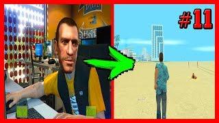 НИКО БЕЛЛИК ИГРАЕТ В GTA VICE CITY | GTA 4 Скоростное Прохождение (SPEED RUN) #11