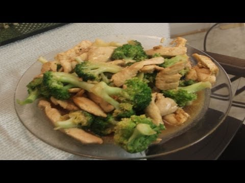 Chinese chicken and broccoli recipe youtube chinese chicken and broccoli recipe forumfinder Gallery