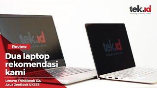 Lenovo ThinkBook 13S  vs Asus ZenBook UX333, pilih mana?