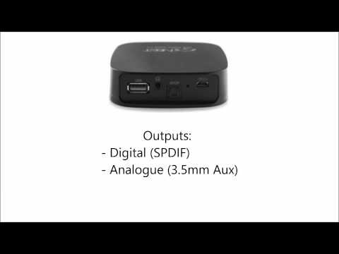 Neet Airstream Wireless Audio Receiver Overview