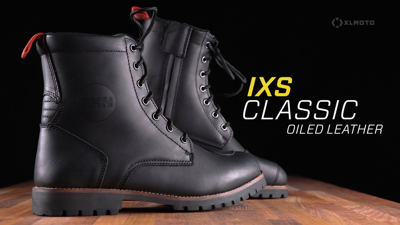IXS X-Classic Engineer Oiled Stivali da motociclista