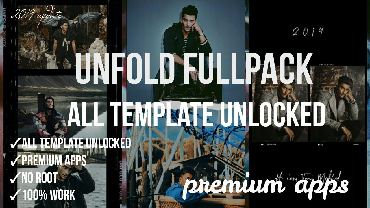 UNFOLD FULLPACK ALL TEMPLATE UNLOCKED | UNFOLD — CREATE STORIES FULLPACK   by Alfharizio