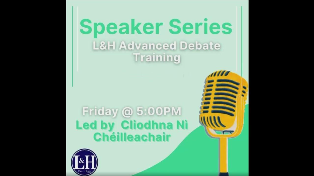 L&H Speaker Series Clìondhna Nì Chéilleachair