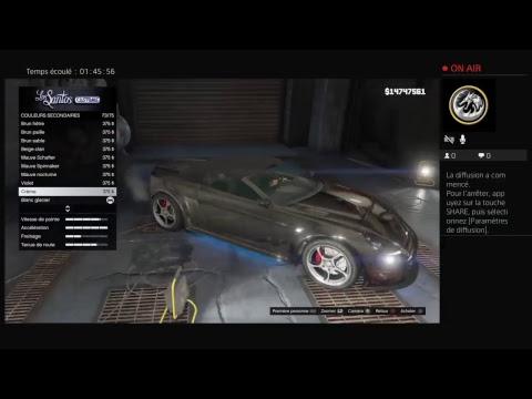 GTA 5 mes plus belle voiture a vous montrer !!