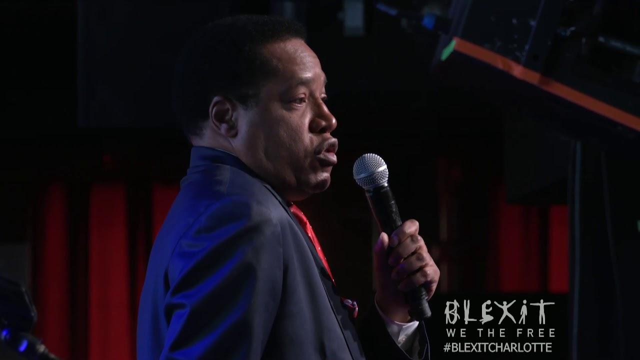 Larry Elder at BLEXIT Charlotte - Candace Owens