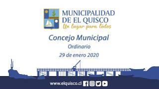 Concejo Municipal 29 de enero 2020