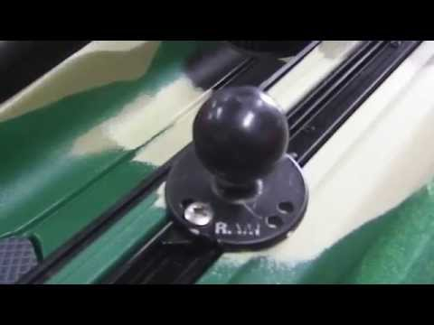 How To Install A Yakgear Feelfree Kayaks Track Nut Kit