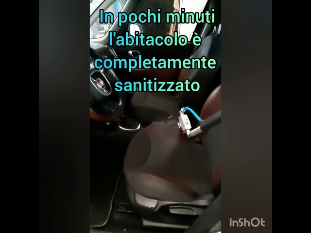 Car interior sanitization - Sanitizzazione interni vettura