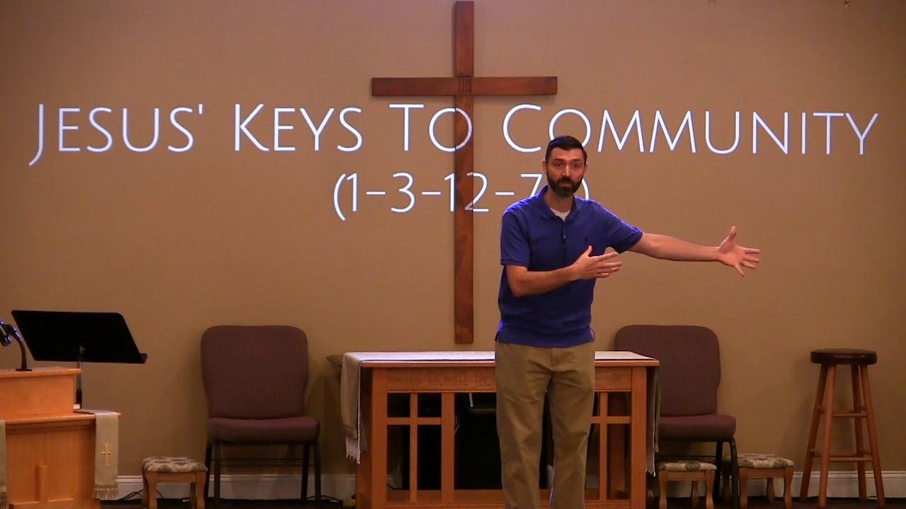 Video Sermons - Jesus' Keys To Community: 1-3-12-70 - New Hope Christian Chapel
