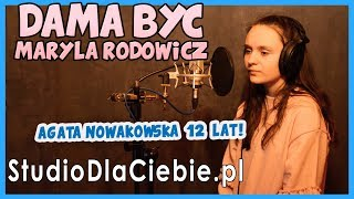 Damą być - Maryla Rodowicz (cover by Agata Nowakowska) #1078