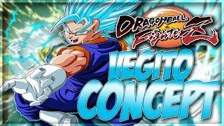 Dragon Ball FighterZ Vegito Concept