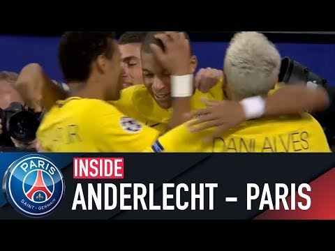 INSIDE - RSC ANDERLECHT VS PARIS SAINT-GERMAIN with Kylian Mbappé