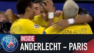 INSIDE - RSC ANDERLECHT VS PARIS SAINT-GERMAIN with Kylian Mbappé