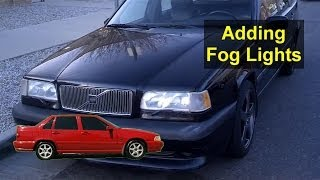 How to add fog lights to a Volvo 850, S70, V70, XC70, etc., system  installation - VOTD - YouTube | Volvo Fog Lights Wiring Diagram |  | YouTube