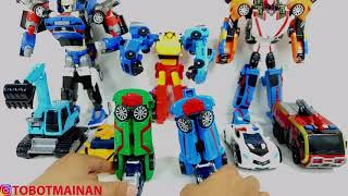 Mainan Tobot Magma 6 Alpha Beta Theta Vulcan Tornado Rocky Robot Toys Transformers