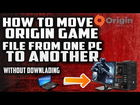 how to move origin game to anotehr drive