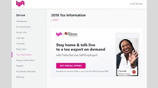 TurboTax + Lyft: Reporting Your Lyft Driver Income [Webinar w/Live Tax Pros]