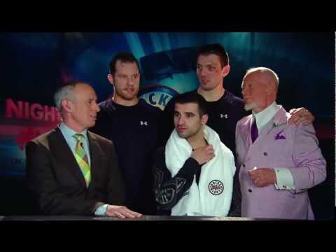 HNIC - Nazem Kadri on Post Game Show with Ron MacLean & Don Cherry - Mar 30th 2013 (HD)