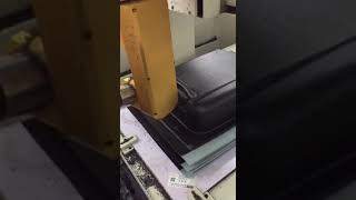 CNC Luggage Cut and hole puncher machine
