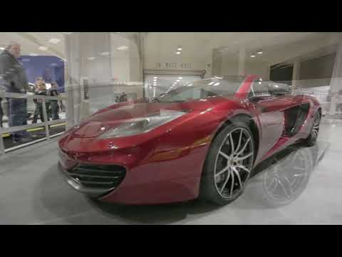 Seattle Auto Show Exotics Classics and Concept