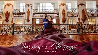 Harvey and Charisse | Save the date by Nice Print Photography