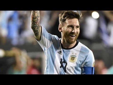 Messi Hat trick, Argentina vs Ecuador, 3-1.All Goals & Highlihts (10/10/2017)