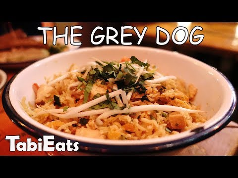 BEST FOOD IN NEW YORK (The Grey Dog)
