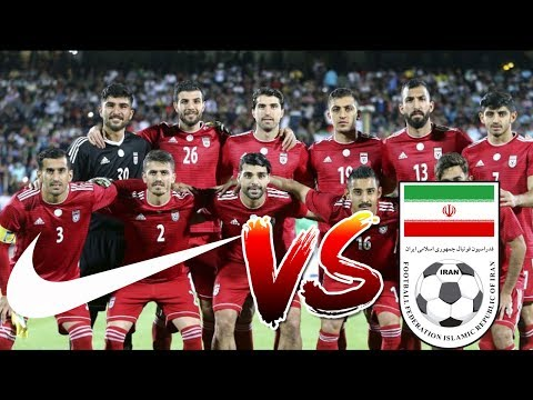 Nike will not suply Iran players with boots for the World Cup