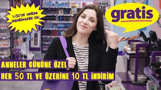 Merve Özkaynak Anneler Günü Gratis Alışveriş Önerileri
