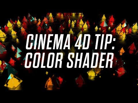 The Amazing Color Shader in Cinema 4D - Quick Tip