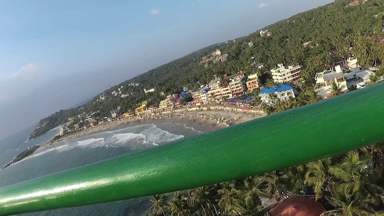 Kovalam Lighthouse | View From Top