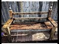 DIY Rustic style bench from scrap wood