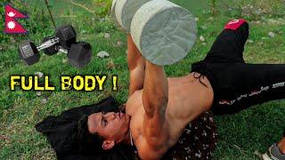 Ultimate Full-Body Dumbbell Workout | Anish Fitness