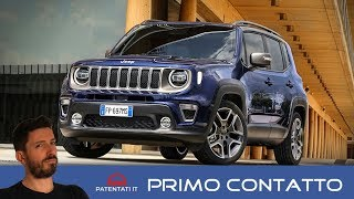 Jeep Renegade my 2019, il test drive del restyling