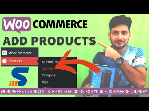 How to add products to WooCommerce Online Store - WordPress Tutorial 2019 thumbnail