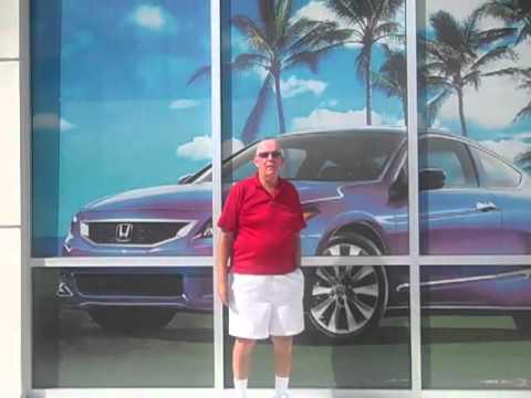 Leslie Ennis of Vero Beach recalls his experience on a 2012 Odyssey from vatland Honda