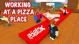 WORK AT A PIZZA PLACE FREE ROBLOX GAME KID GAMING 1080P HD GAMEPLAY walkthrough lets play